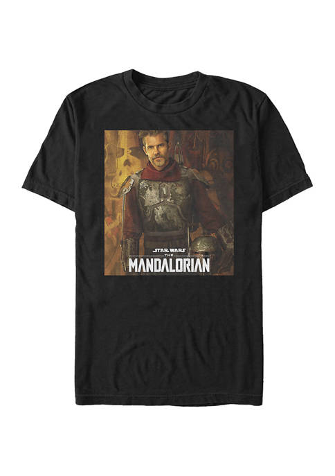 Star Wars The Mandalorian The Marshall Poster Graphic T-Shirt