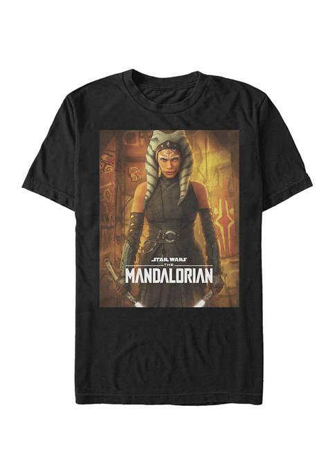 Star Wars The Mandalorian Ahsoka Poster Graphic T-Shirt