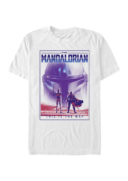 Star Wars The Mandalorian Hype Twins Graphic T-Shirt