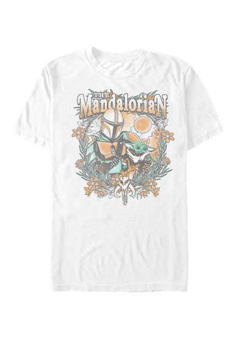 Star Wars The Mandalorian Ball Chase Graphic T-Shirt