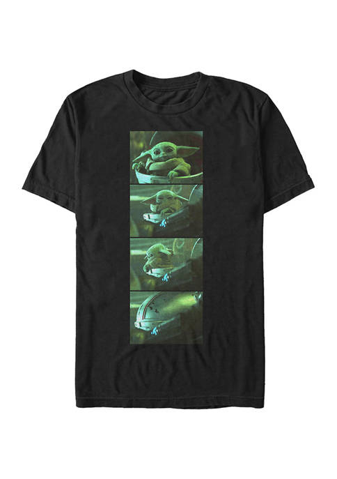 Star Wars The Mandalorian Child Nope Graphic T-Shirt