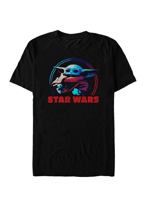 Star Wars The Mandalorian Cookie Yoda Graphic T-Shirt