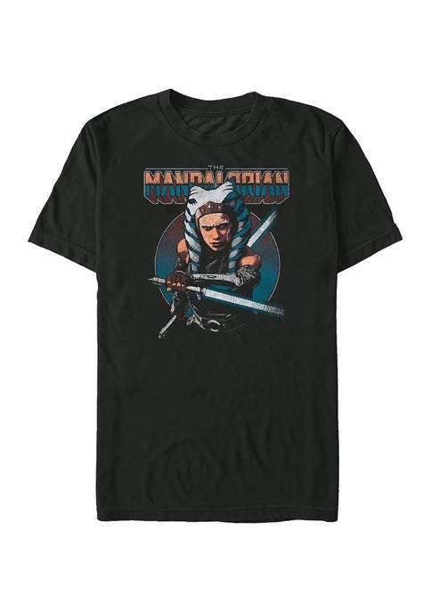 Star Wars The Mandalorian Ahsoka Circle T-Shirt