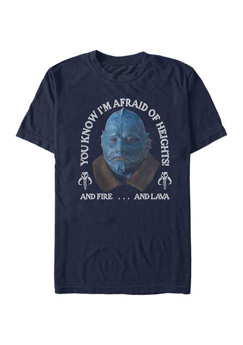 Star Wars The Mandalorian Fire Lava Heights T-Shirt