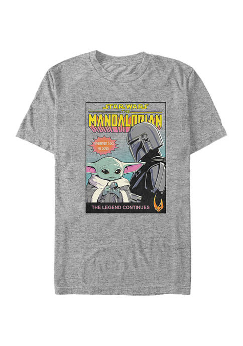 Star Wars® The Mandalorian Hes Back Graphic T-Shirt