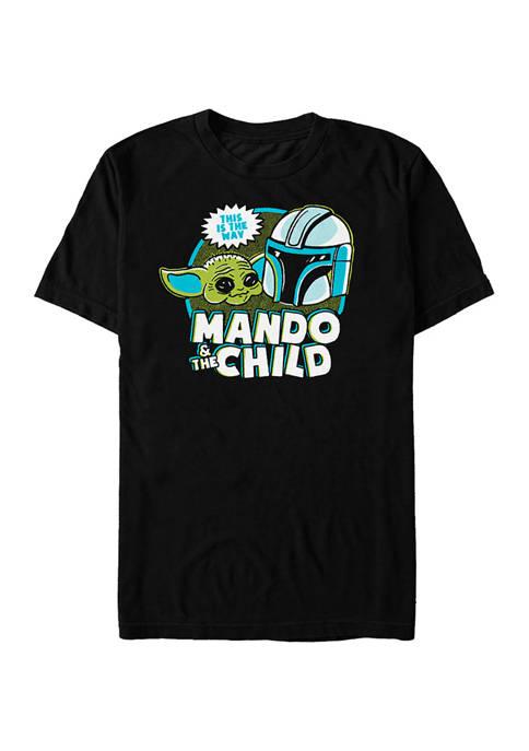 Star Wars® The Mandalorian Saturday Cartoon Graphic T-Shirt