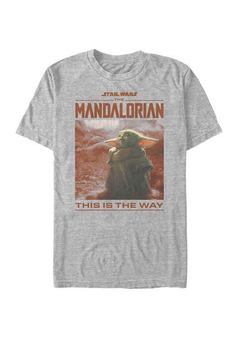 Star Wars® The Mandalorian Child Render  Graphic T-Shirt