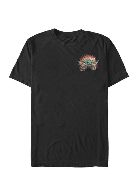 Star Wars® The Mandalorian Sipping Starries Small Front Graphic T-Shirt