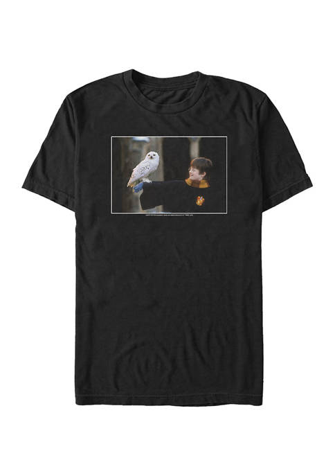 Harry Potter Harry And Hedwig Graphic T-Shirt