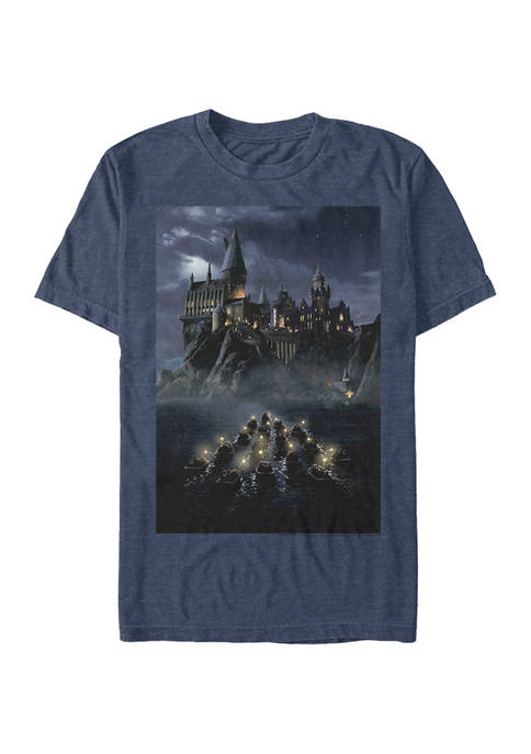 Harry Potter™ Harry Potter Castle Poster Graphic T-Shirt