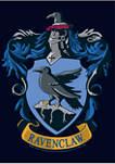 Harry Potter Ravenclaw House Crest Graphic T-Shirt