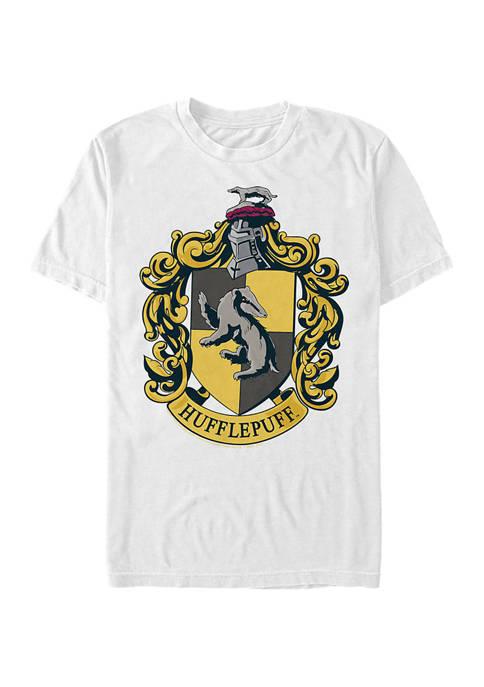 Harry Potter Hufflepuff House Crest Graphic T-Shirt