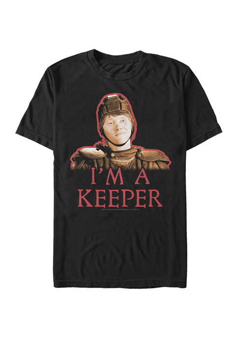 Harry Potter Ron Keeper Graphic T-Shirt