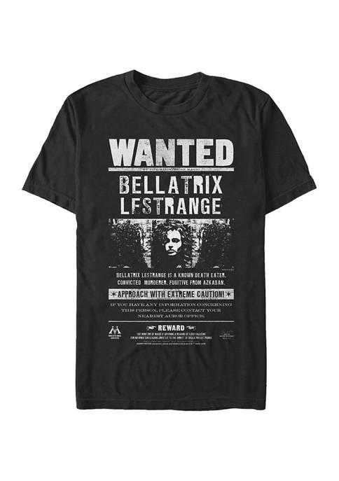 Harry Potter Bellatrix Newspaper Graphic T-Shirt