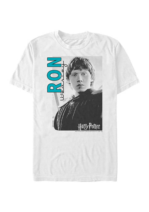 Harry Potter Ron Street Graphic T-Shirt