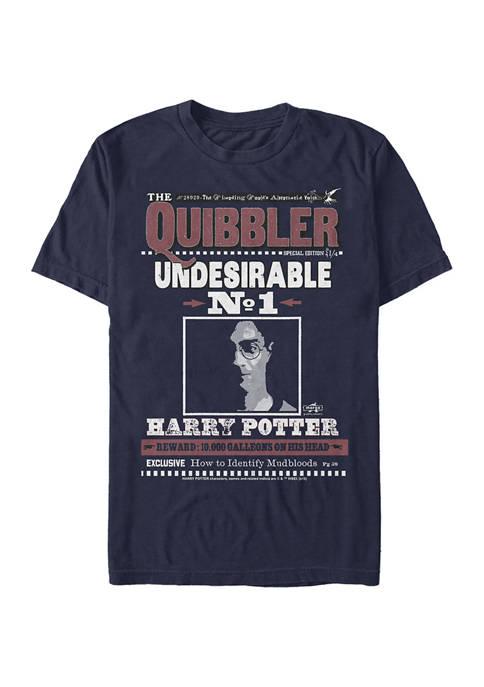 Harry Potter Harry Quibbler Graphic T-Shirt