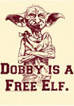 Harry Potter Dobby Free Elf Graphic T-Shirt