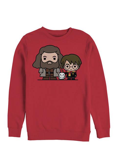 Harry Potter Besties Crew Fleece Graphic Sweatshirt