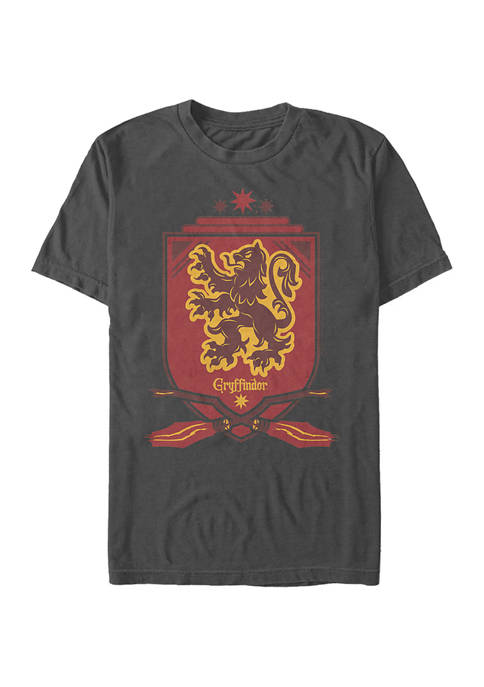 Harry Potter Gryffindor Shield Graphic T-Shirt