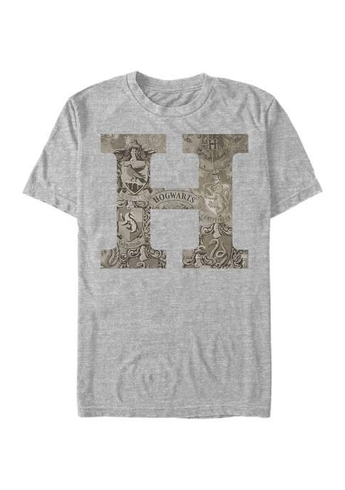 Harry Potter Vintage Hogwarts Graphic T-Shirt