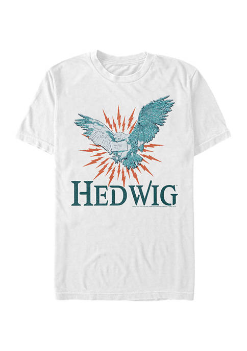 Harry Potter Hedwig Mail Graphic T-Shirt