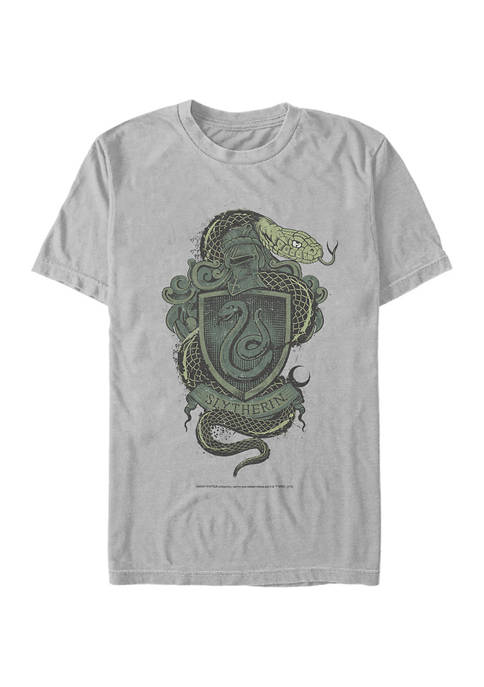 Harry Potter Slytherin House Crest Graphic T-Shirt