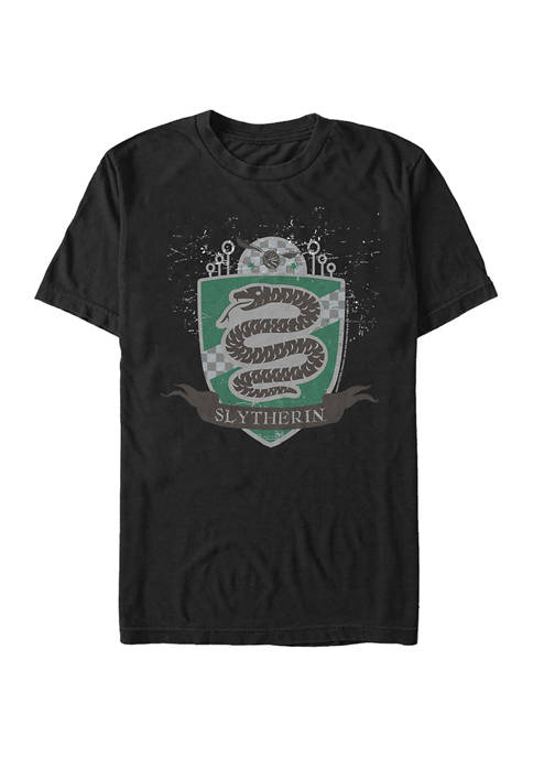 Harry Potter Slytherin Badge Graphic T-Shirt