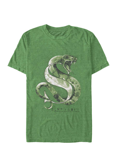 Harry Potter Slytherin Mystic Wash Graphic T-Shirt