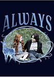Harry Potter Snape and Lily Always Graphic T-Shirt