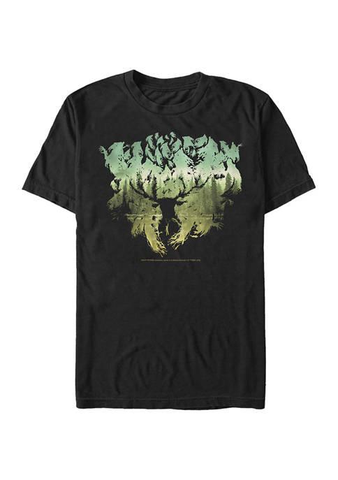 Harry Potter Patronus Silhouette Graphic T-Shirt