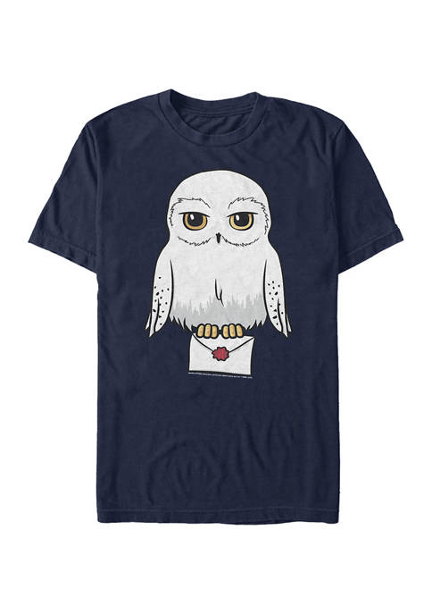 Harry Potter Anime Hedwig Mail Graphic T-Shirt