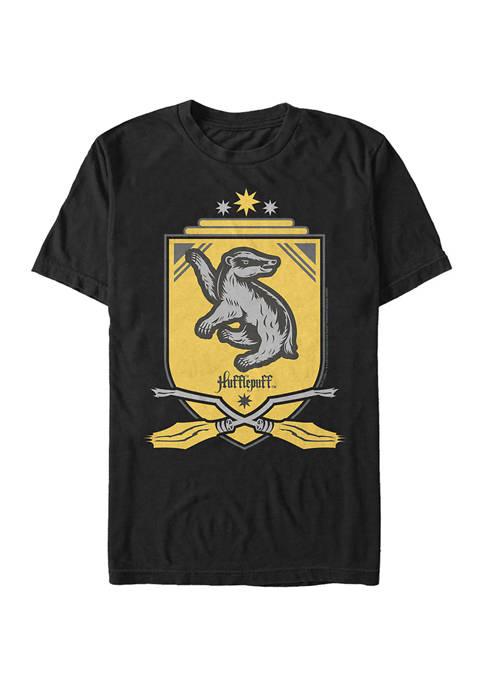 Harry Potter Hufflepuff Shield Graphic T-Shirt