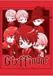 Harry Potter Gryffindor Chibi Graphic T-Shirt
