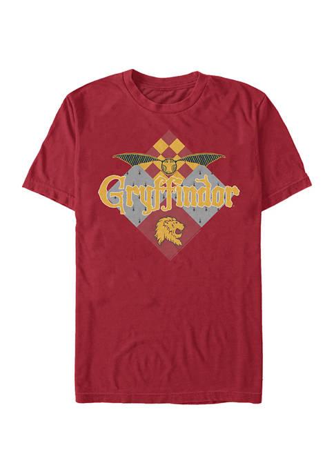 Harry Potter Gryffindor Quidditch Graphic T-Shirt