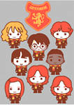 Harry Potter House Gryffindor Characters Graphic T-Shirt