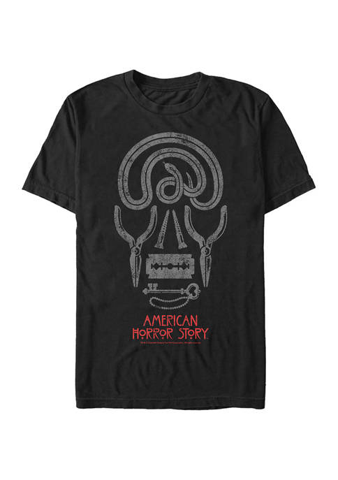 American Horror Story Skull Icons Short Sleeve Graphic
