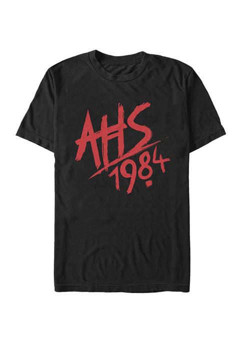 American Horror Story 1984 Logo Short Sleeve Graphic T-Shirt