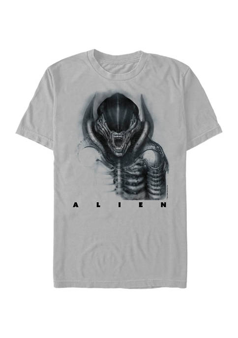 Alien Giger Alien Short Sleeve Graphic T-Shirt