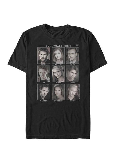 Buffy the Vampire Slayer Faces Of Short Sleeve