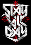 Buffy the Vampire Slayer Slay All Day Short Sleeve Graphic T-Shirt