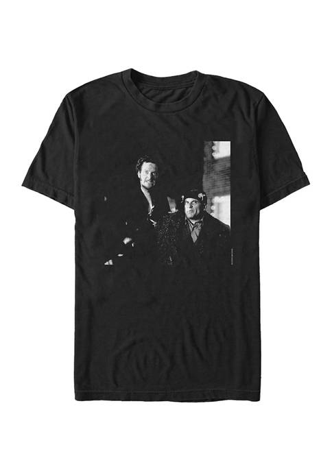 Home Alone Harry and Marv Photo Short Sleeve Graphic T-Shirt
