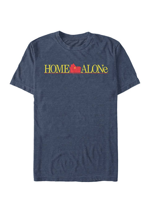 Home Alone Color Logo Short Sleeve Graphic T-Shirt