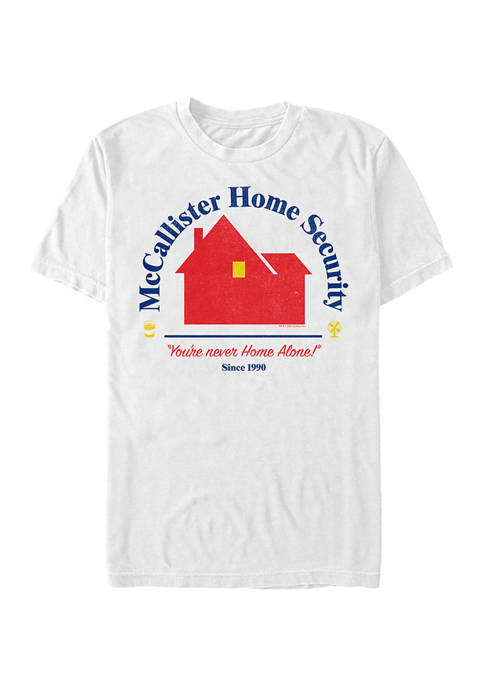 Home Alone Home Security Short Sleeve Graphic T-Shirt