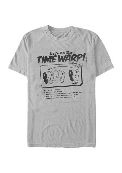 Rocky Horror Picture Show Time Warp Photocopy Short Sleeve Graphic T-Shirt