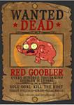 Solar Opposites Red Goobler Wanted Short Sleeve Graphic T-Shirt