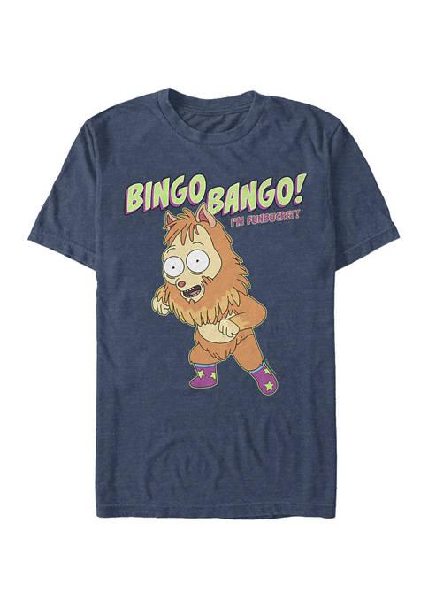 Solar Opposite Bingo Bango Funbucket Short Sleeve Graphic T-Shirt