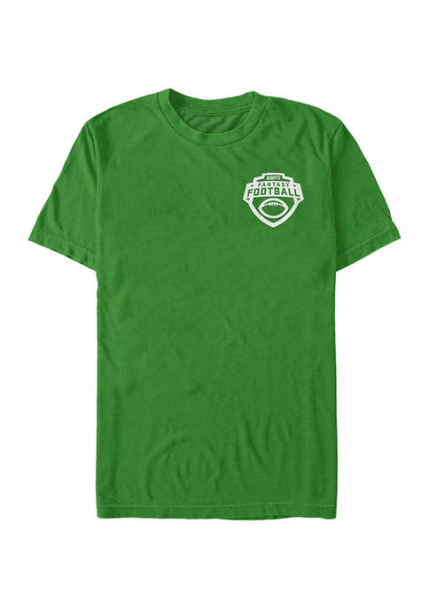 ESPN FF One Color Short Sleeve Graphic T-Shirt