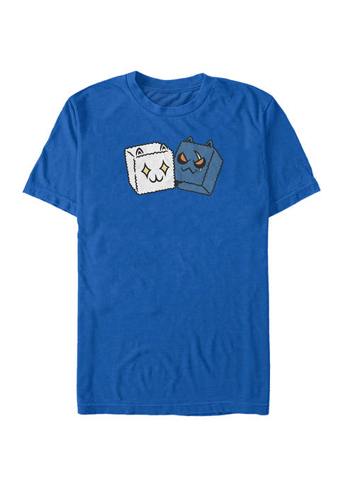 Fortnite Dice Meowscles Short Sleeve Graphic T-Shirt