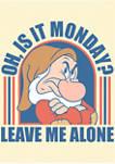 Disney® Princess Grumpy Monday Short Sleeve Graphic T-Shirt