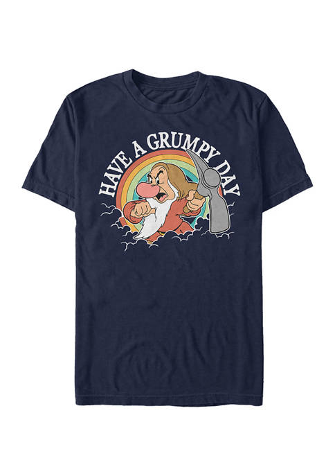 Disney® Princess Grumpy Day Short Sleeve Graphic T-Shirt